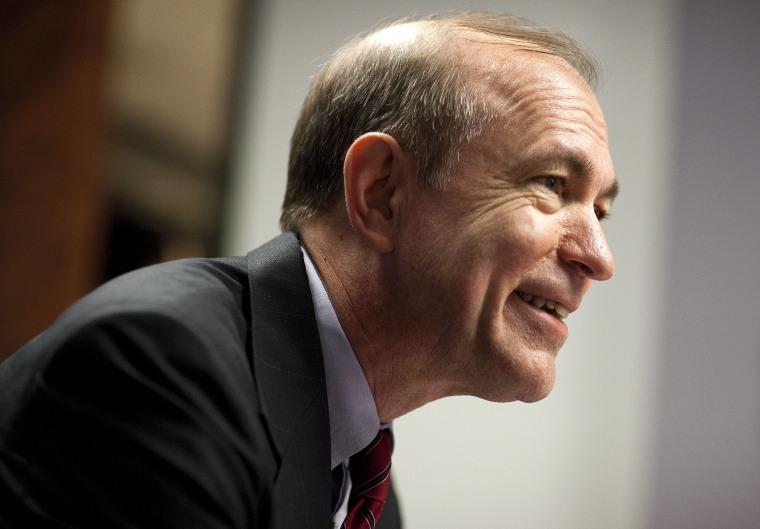 United States Representative Scott Garrett speaks during a Reuters Finance Summit in Washington February 28, 2011.