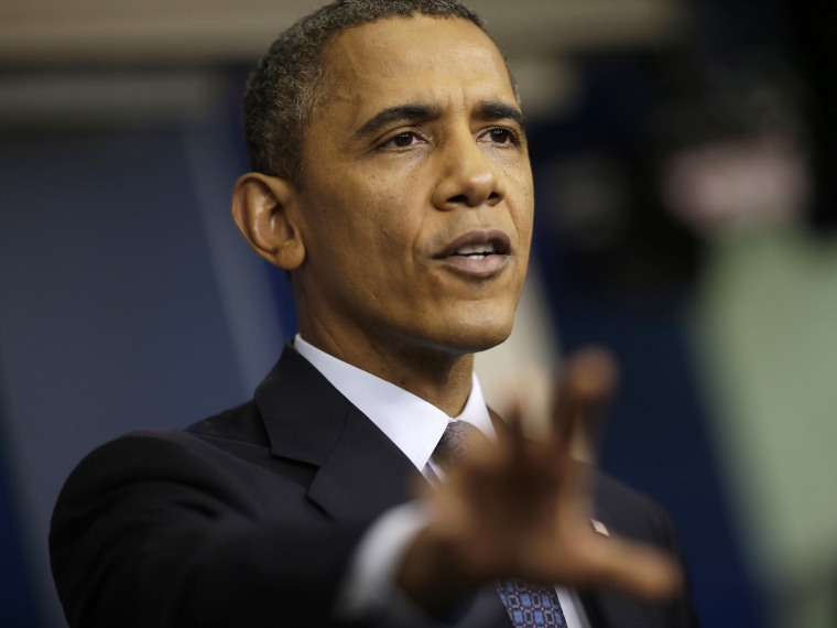 President Barack Obama speaks about the the budget and the partial government shutdown, Tuesday, Oct. 8, 2013.