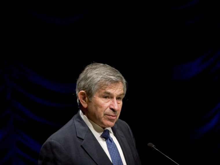 Paul Wolfowitz Attends World Bank Business Group Meeting