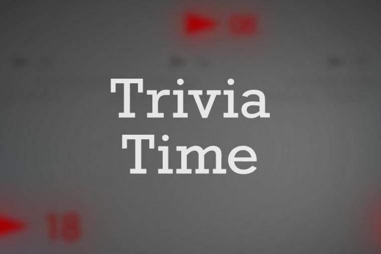 Daily Rundown Trivia Time