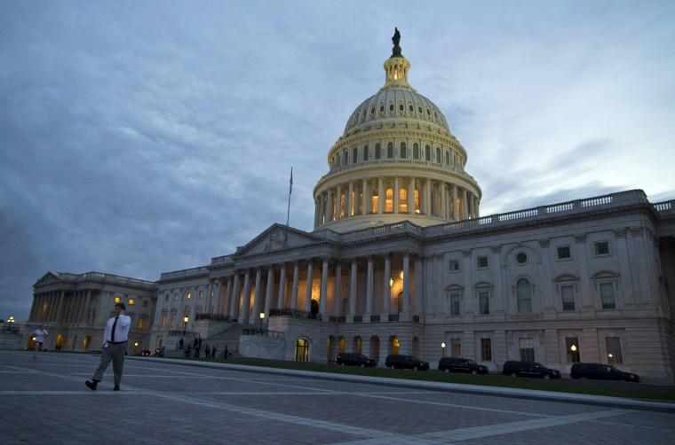 A view of the U.S. Capitol building on Tuesday, Oct. 15, 2013 in Washington.
