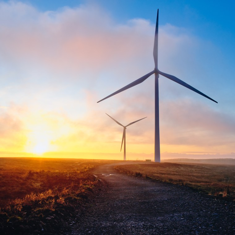 Winding Road, Turbines. Courtesy of GE.