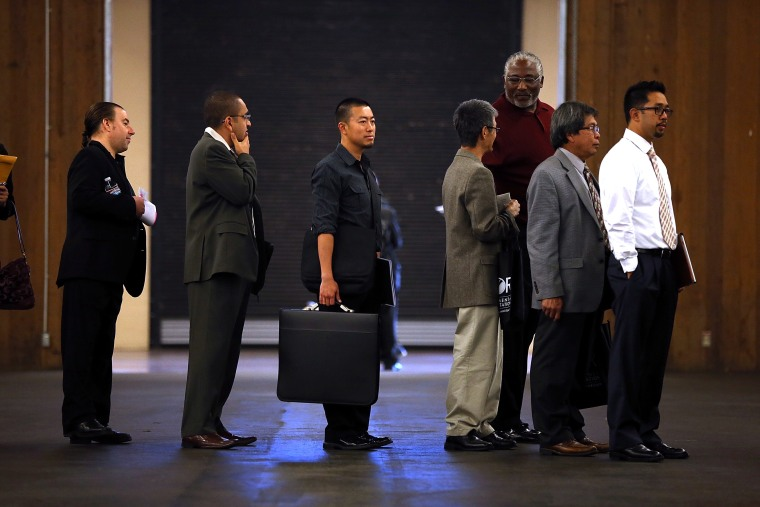 Job Seekers Attend Job Hunters Boot Camp In Bay Area