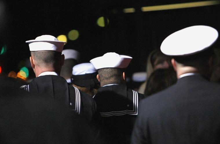 Members of the U.S. Navy