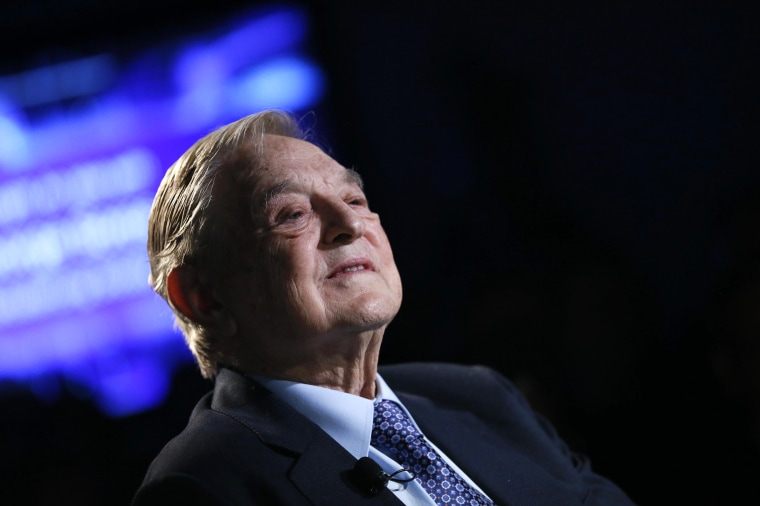 Billionaire investor George Soros of Soros Fund Management attends the annual meeting of the World Economic Forum (WEF) in Davos on Jan. 26, 2013.