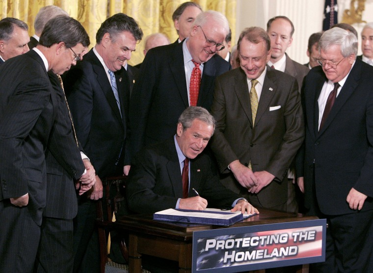 President Bush Renews USA Patriot Act