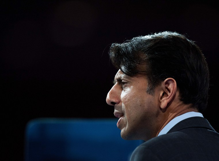 US Republican Governor of Louisiana Bobby Jindal speaks at the Conservative Political Action Conference (CPAC) in National Harbor, Maryland, on March 15, 2013.
