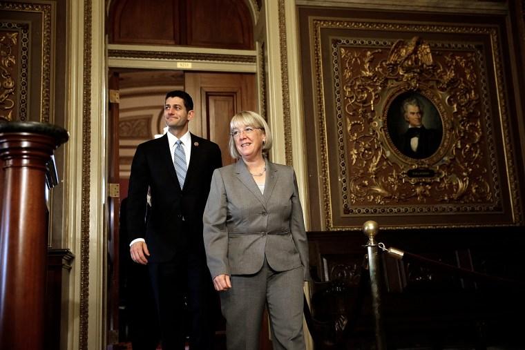 Senator Murray And Reps. Ryan And Hollen Meet On Budget