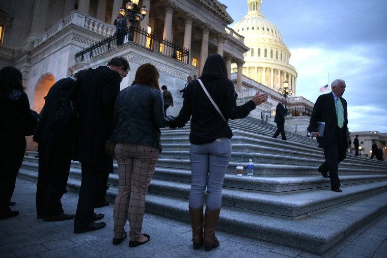 Immigration Activists Make Trip To Nation's Capitol To Rally For Reform