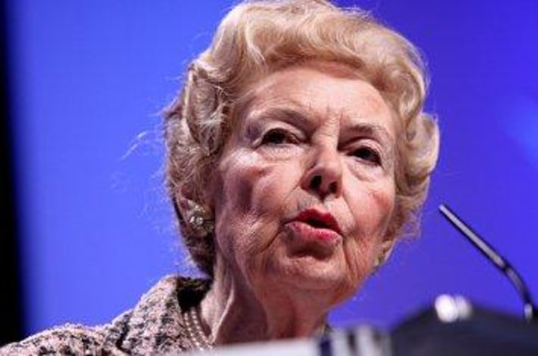 The Eagle Forum's Phyllis Schlafly
