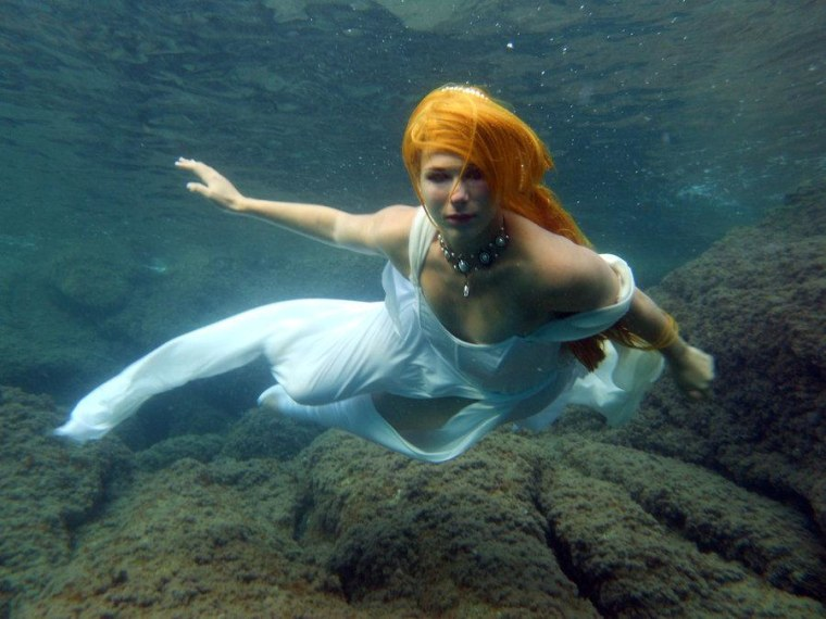 'As a marine biologist, I can tell you unequivocally that despite millennia of humans exploring the ocean, no credible evidence of the existence of mermaids has ever been found. '