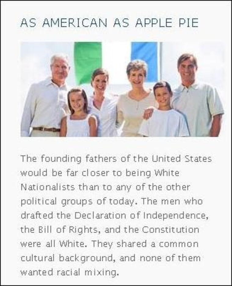 Racists building all-white republic, one bad Photoshop at a time
