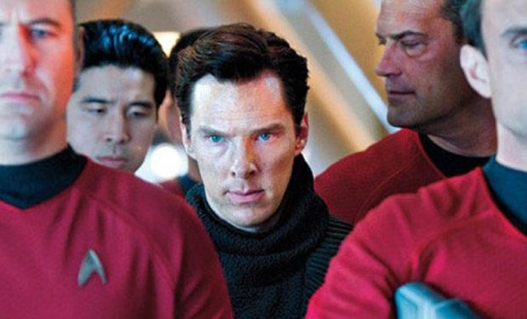John Harrison (Benedict Cumberbatch) in custody