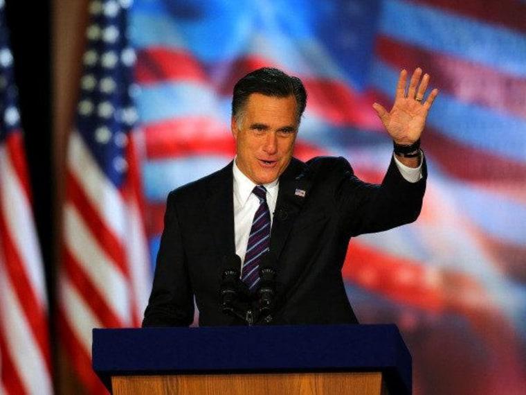 Romney: Hurricane Sandy helped Obama