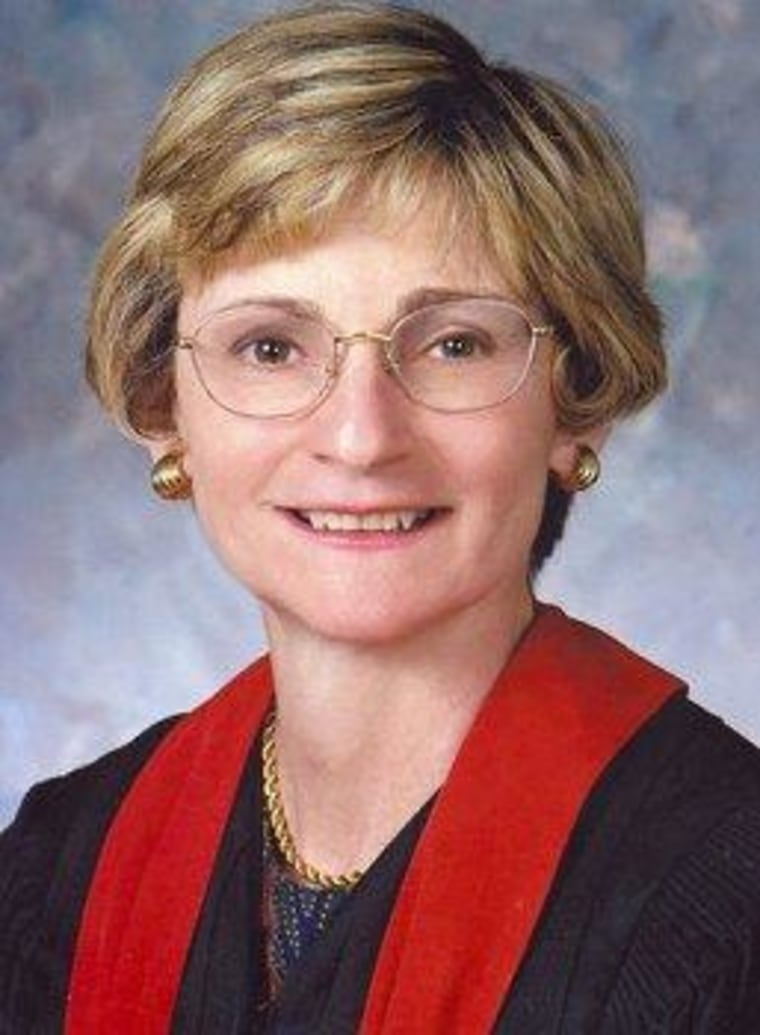 5th Circuit Court of Appeals Judge Edith Jones