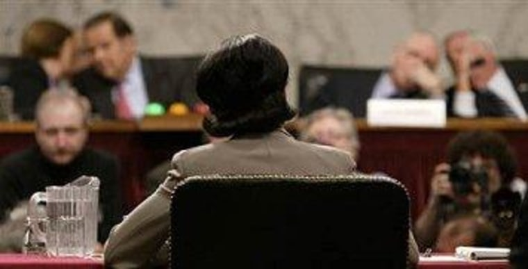 Condoleezza Rice appeared before the 9/11 Commission in 2004.