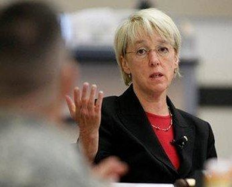 Sen. Patty Murray has been the Democratic point person on the Violence Against Women Act.