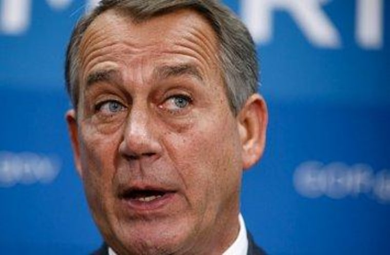 Boehner's red line gets a little blurry