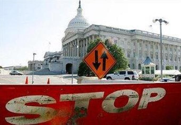 Those who root for a government shutdown