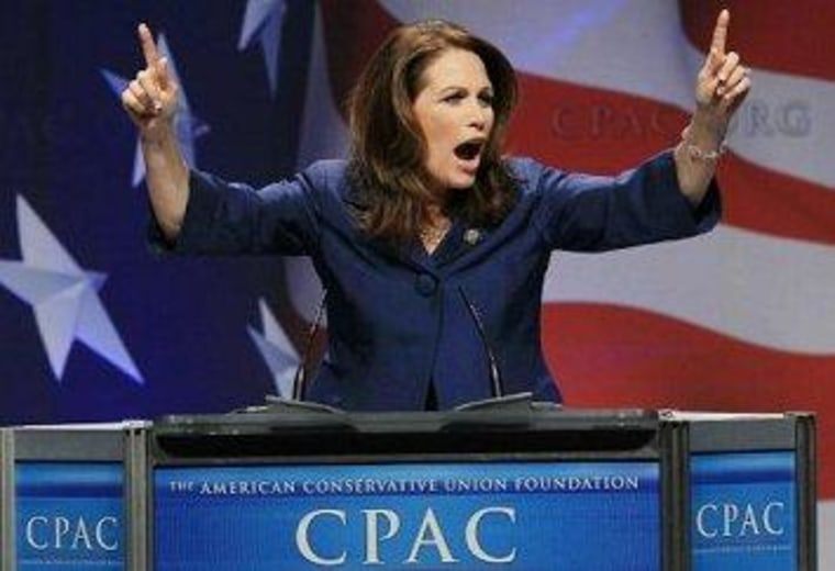 Michele Bachmann to exit stage right