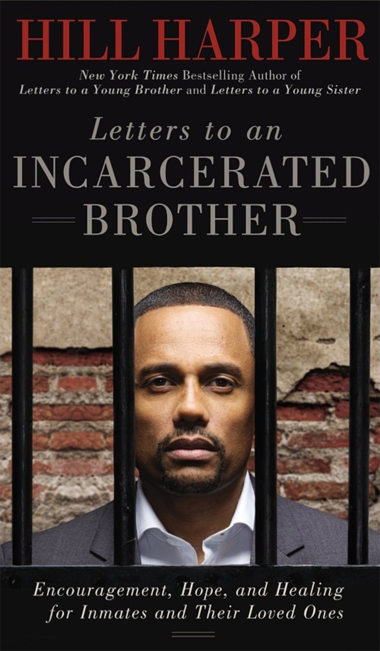 Letters to an Incarcerated Brother book cover