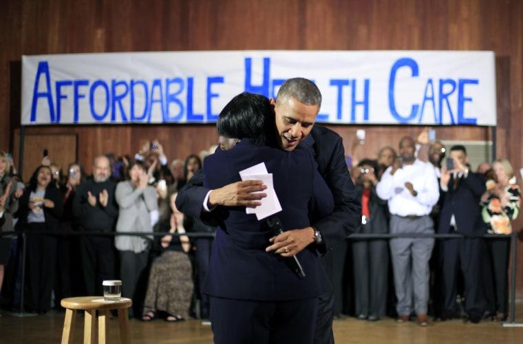 Barack Obama, Edna Pemberton