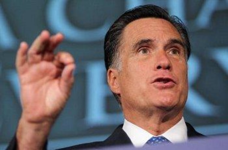 Romney doesn't mind trying to slice the truth very thin.