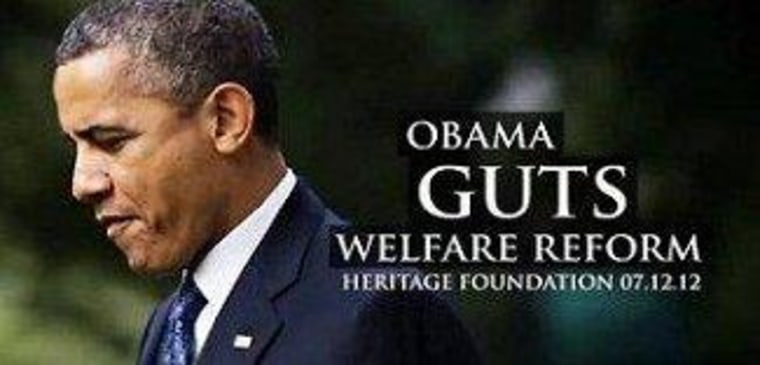 The sudden disappearance of the welfare lie