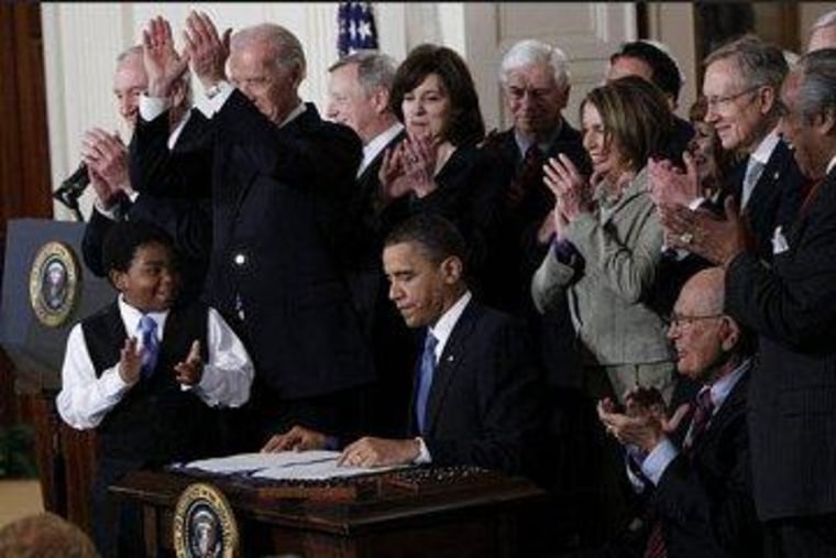 'Obamacare is the law of the land'
