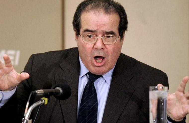 Scalia, civil rights, and murder