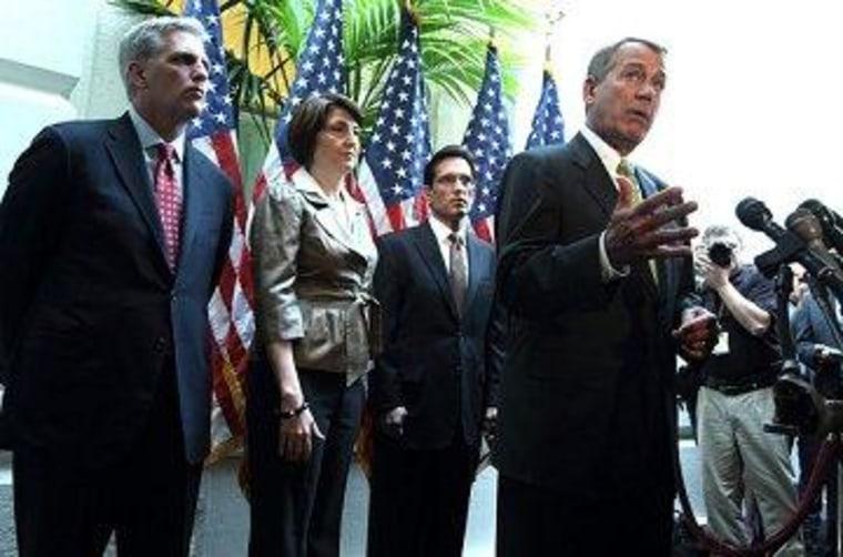 The House Republican leadership team