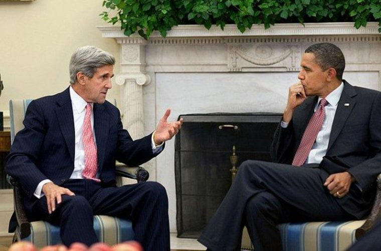 Obama chooses Kerry for Secretary of State