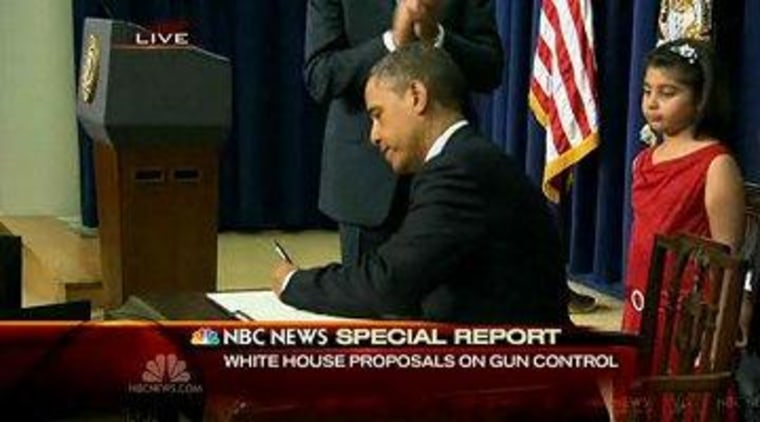 President Obama signed executive actions on guns this week, not executive orders