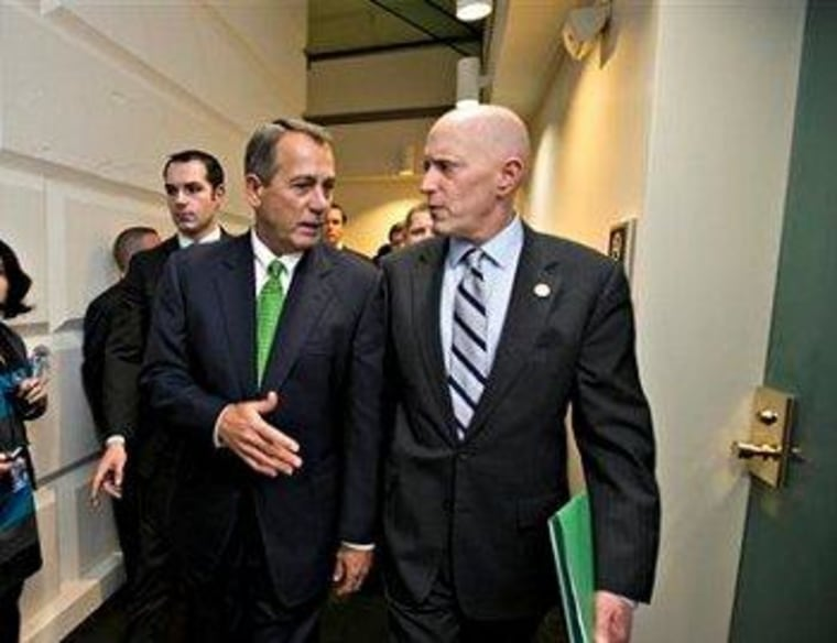 House Speaker John Boehner (R-Ohio) and House Ways and Means Committee Chairman Dave Camp (R-Mich.)