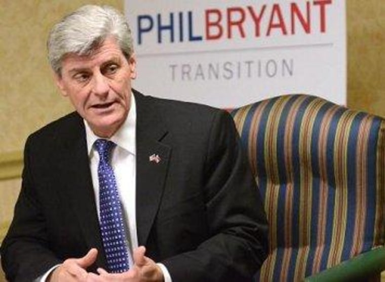 Mississippi's Bryant laments when 'mom got in the workplace'