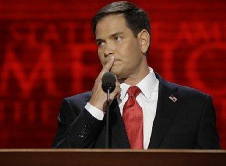 Rubio threatens to betray his allies on immigration reform