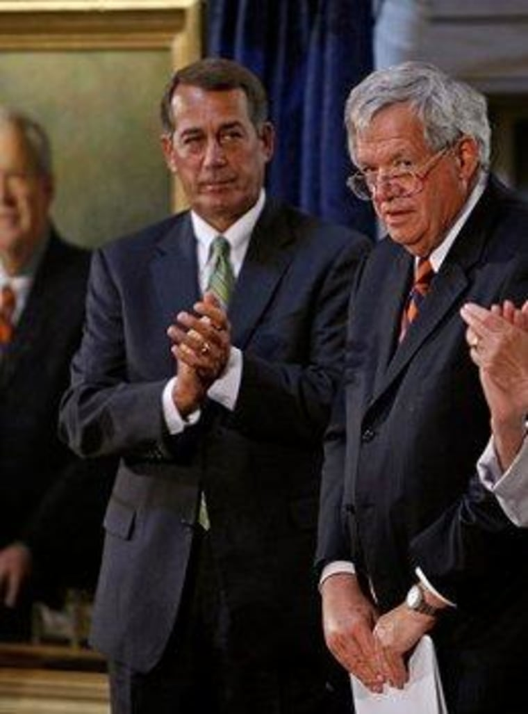 Right hopes to rally support for 'Hastert Rule'