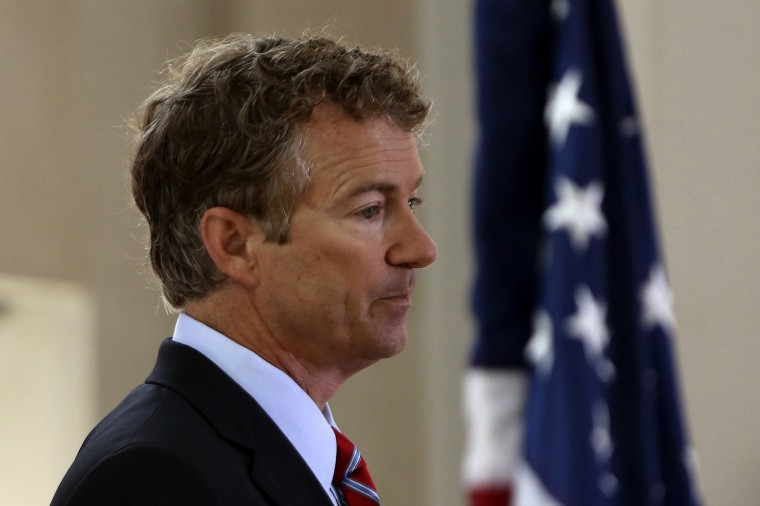 U.S. Senator Rand Paul (R-KY) attends the Faith & Freedom Coalition Road to Majority Conference Kickoff Luncheon in Washington on June 13, 2013.