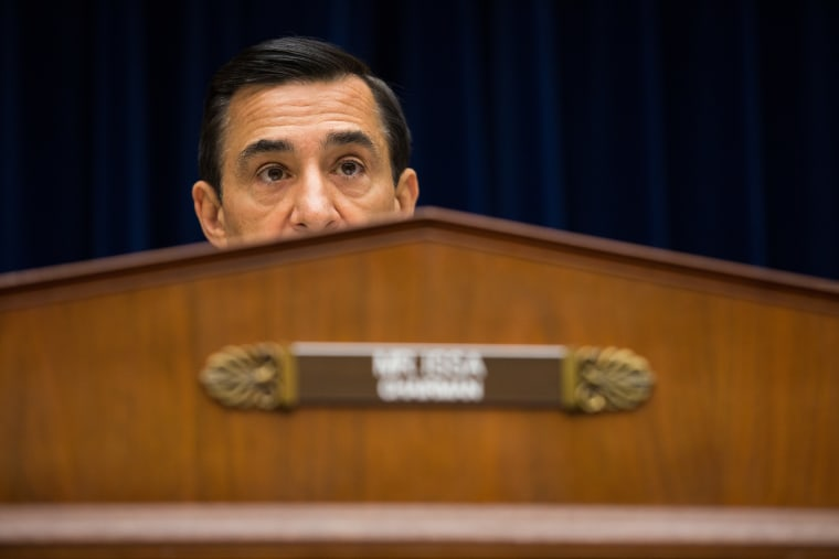 Committee Chairman Darrell Issa in the Rayburn House Office Building on Capitol Hill, September 19, 2013.