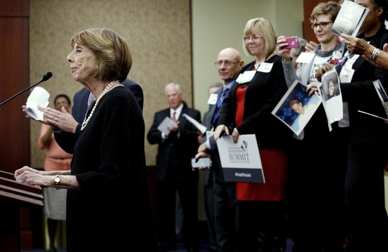 Politicians Join Gun Control Advocates On 20th Anniversary Of Brady Bill
