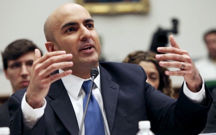 Neel Kashkari, acting interim assistant Treasury Secretary for financial stability, testifies on Capitol Hill in Washington on March 11, 2009.