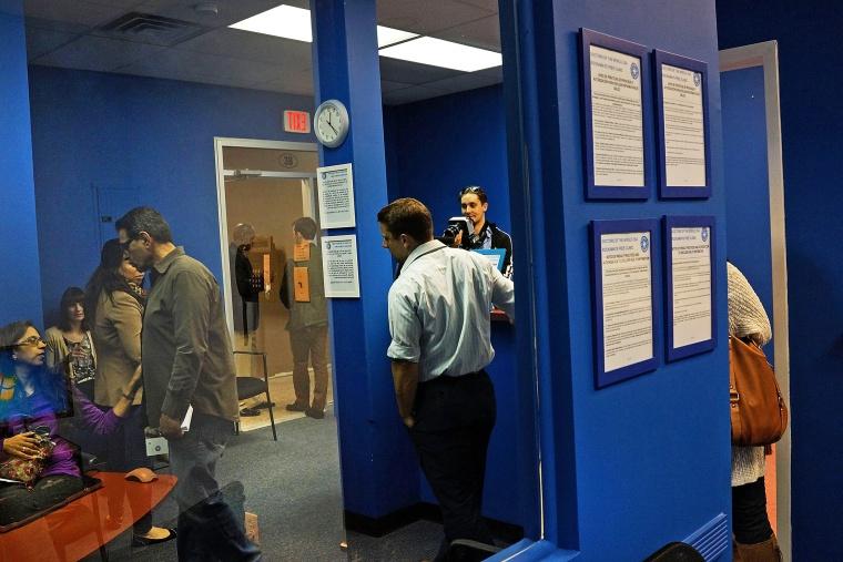 A health clinic in Rockaway, Queens, Oct. 19, 2013.