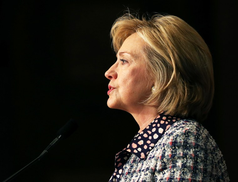 Former Secretary of State Hillary Clinton speaks at Georgetown University, Nov. 15, 2013.