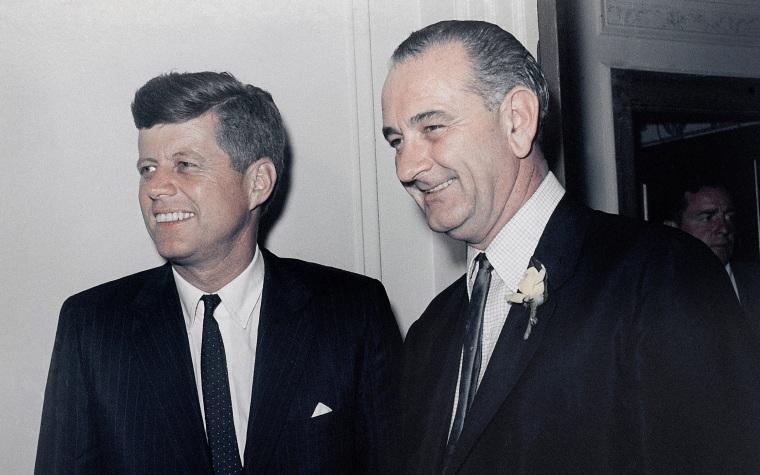 John F. Kennedy, Lyndon B. Johnson
