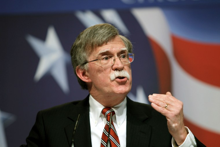 Former U.N. Ambassador John Bolton addresses the Conservative Political Action Conference (CPAC) in Washington Saturday, Feb. 20, 2010.