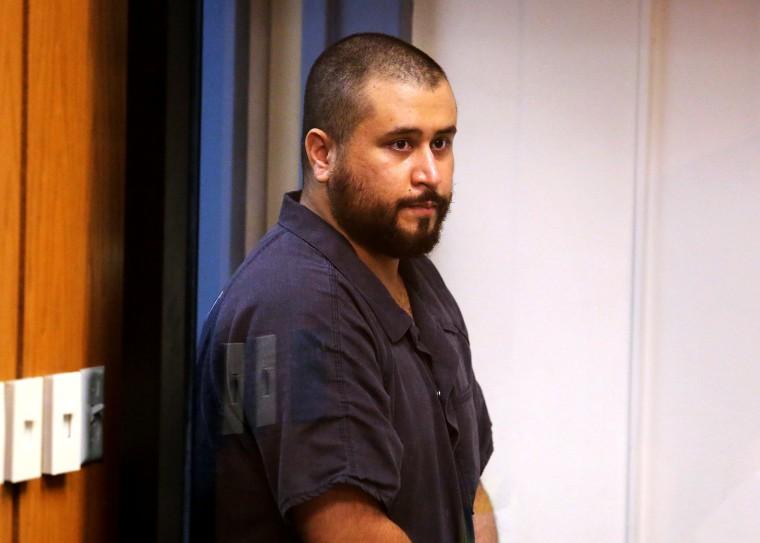 George Zimmerman faces a Seminole circuit judge, Nov. 19, 2013.
