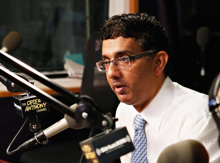 Author Dinesh D'Souza visits 'The Opie & Anthony Show' at the SiriusXM Studio on September 27, 2012.