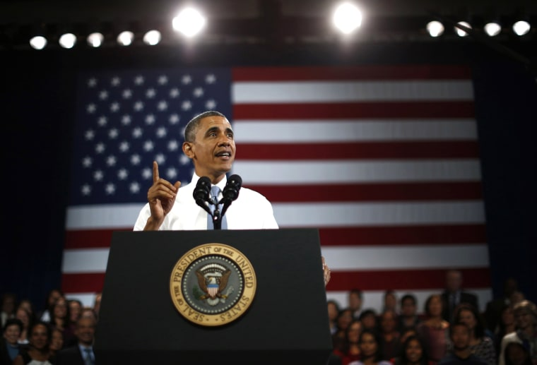 President Barack Obama participates in an event on immigration reform in San Francisco, Calif. on Nov. 25, 2013.