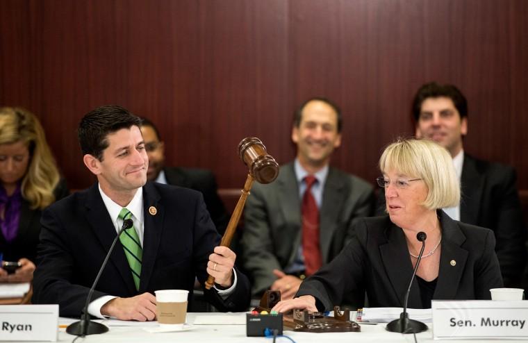 Paul Ryan, Patty Murray