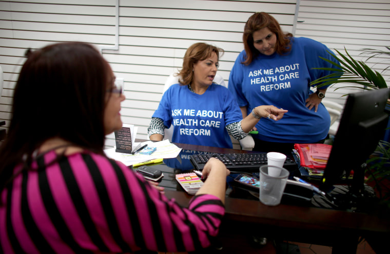 Insurance Agents Aid In Signing People Up For Affordable Health Care Act Coverage